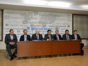 Пресс-конференция мин