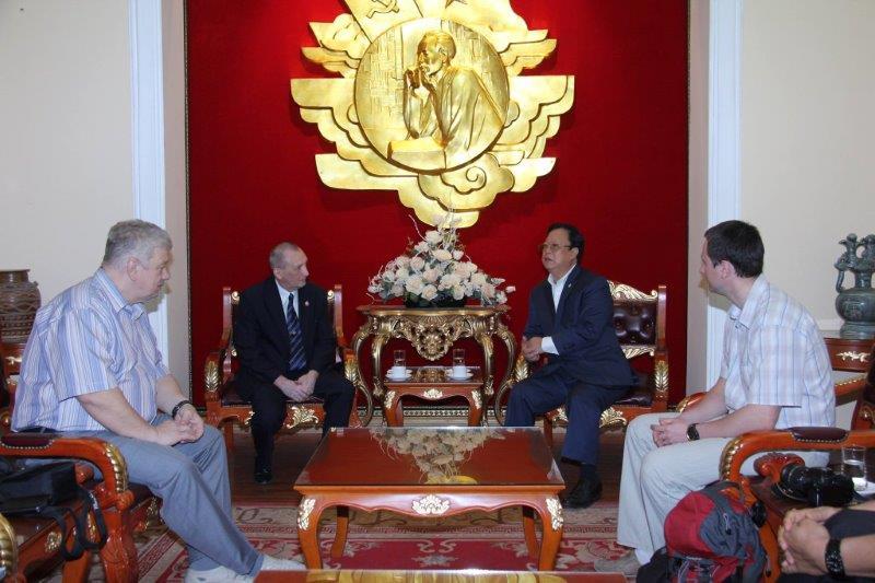 Встреча с Ву Сун Хонгом