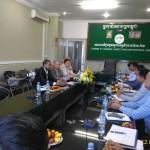 Встреча в ТПП провинция Кампот (Камбоджа)