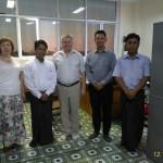 Встреча в Технологическом университете (Мьянма)