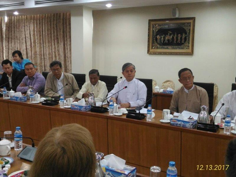 Встреча в ТПП (Мьянма)
